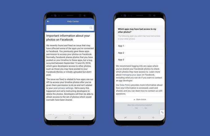 Facebook Unveils Bug Exposed up to 6.8 million user's unposted photos