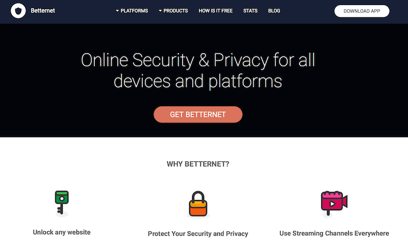 Betternet-VPN-review
