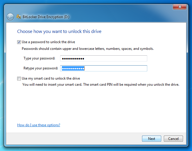 encryp flash drive windows 7 - step-2