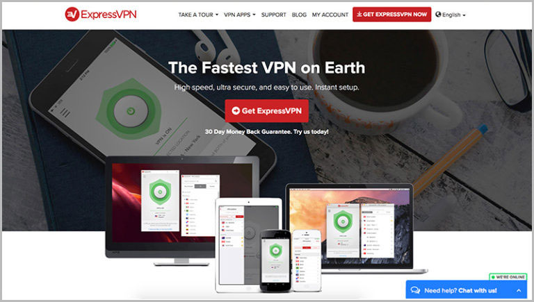 Most Secure VPN - ExpressVPN Review