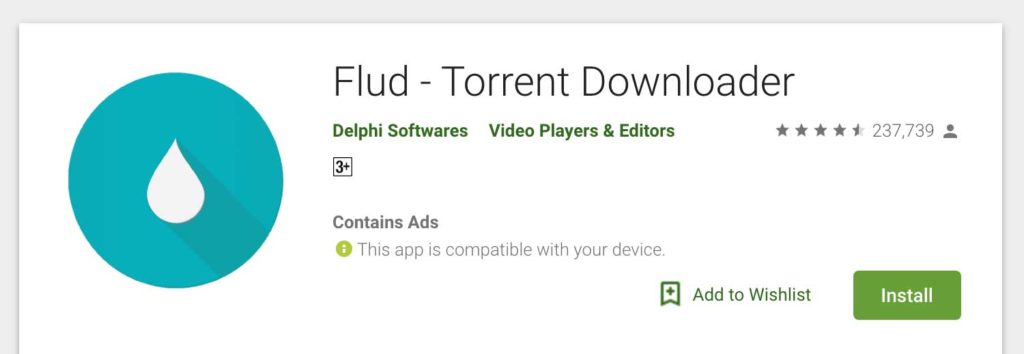 torrent for android apps